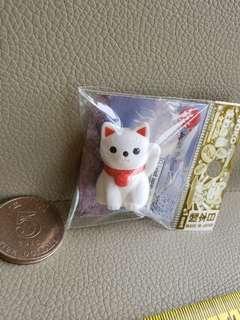日本招財貓 筆插頭 日本製造