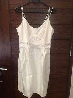 Dress formal off white