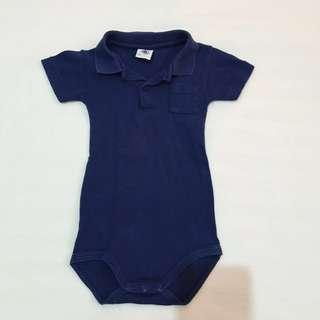 Polo Shirt Onesie 3-6 Months
