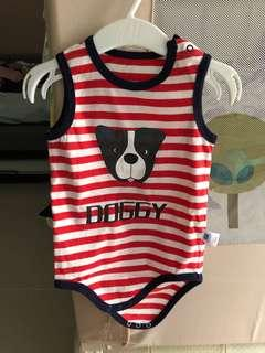 Cute Doggy Baby Romper