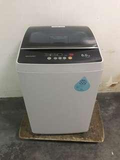 🚚 Very new sharp 8kg Washing Machine