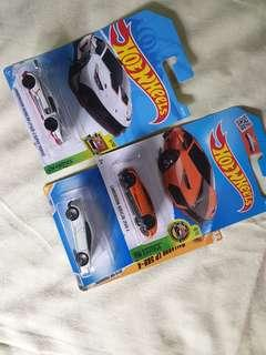 Hotwheels lamborghini lot of 3 pcs