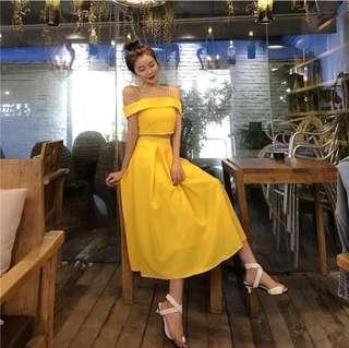 Belle Yellow Dress