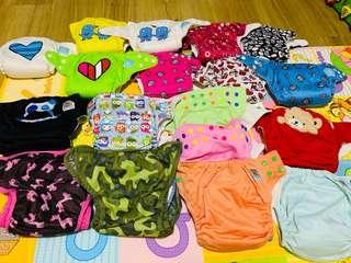 Cloth Diapers (Charlie Banana, RAFRAF, Best Bottoms)