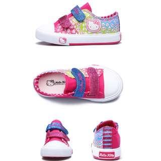 Preorder Hello Kitty rainbow canvas shoe