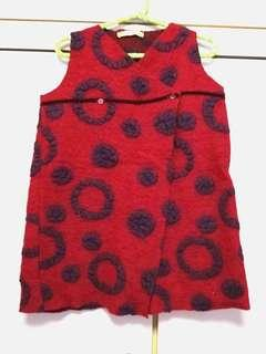 Wrapped Tunic/dress for 4 yrs old fm Italy