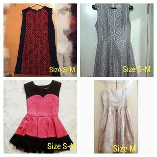 ❤️❤️ Dresses - size S-M (used once only)