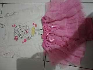 Baju bayi rok tutu
