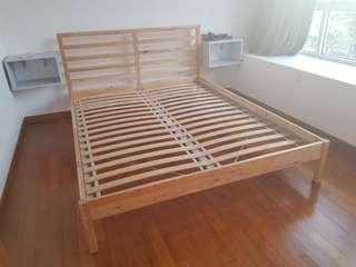 Ikea Bed Frame - double
