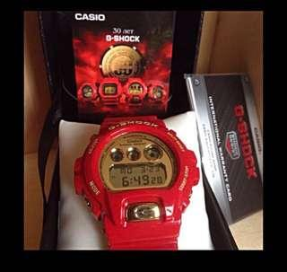 G-shock red dw-6930