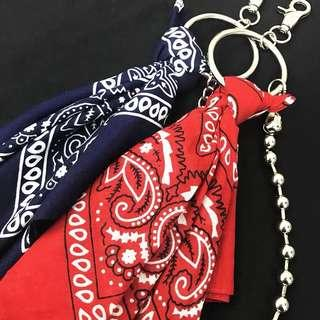 🚚 Street accessories round chains with bandana
