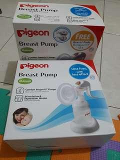 Breast Pump manual pigeon