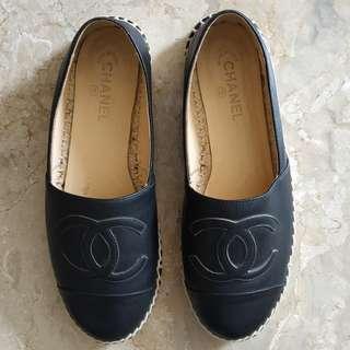 Chanel Espadrilles Black