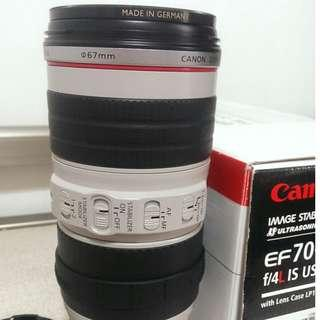 Canon EF 70-200mm F4L IS USM 小小白 附b+w保護鏡