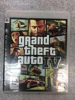 PS3 game GTA IV