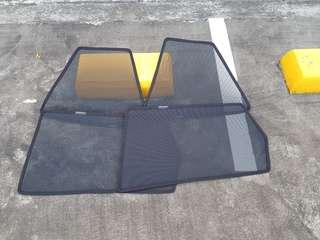 Honda Airwave Magnetic Sunshades