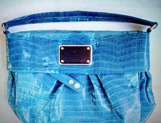 Marc Jacobs Croc Blue Bag Original