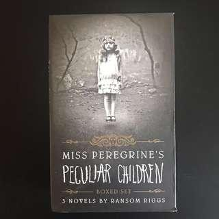 🚚 Miss Peregrine's Home For Peculiar Children (3 book slipcase set) by Ransom Riggs
