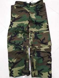 美軍trousers improved rain pants