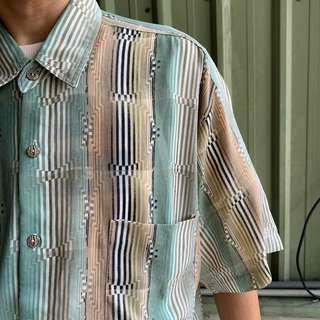 《57shop🦎》夏天爆涼款謎樣襯衫☀