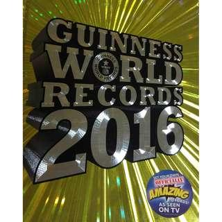 Used Guinness World Records 2016 Hardcover Book