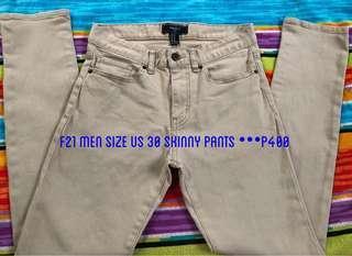 F21 Men Skinny Pants
