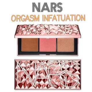Nars Orgasm Infatuation Palette