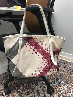 Authentic Burberry Limited Edition Japan Design Heart Tote
