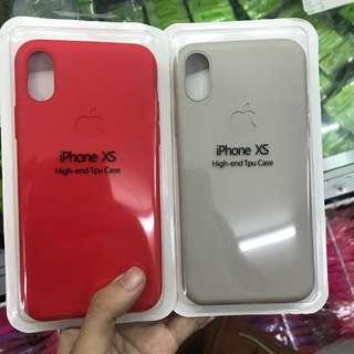 iPhone XS Max Silicon Case Full Cover