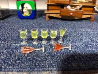 Handmade Miniature Wine (Resin)