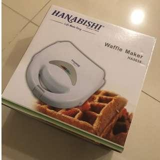 Waffle Maker x6 (Used once)