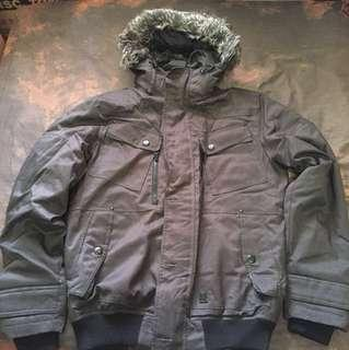 Pull And Bear Winter Down Jacket