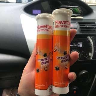 Flavettes Effervescent Vitamin C