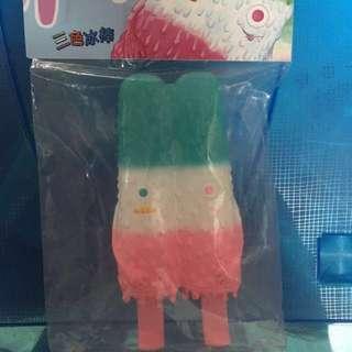 怪獸冰棒 三色冰 雪條 Popsicle Mon 16M design sofubi