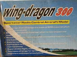 AirCraft Wing-Dragon 300   4CH  2.4ghz  ( Barang display NEW )