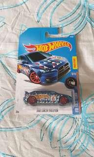 Hotwheels Mitsubishi Evolution X
