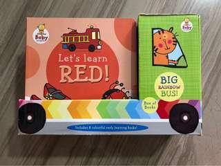 Baby Steps Big Rainbow Bus 8 Book Set