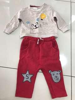 ZARA - Sweatshirt & Trousers