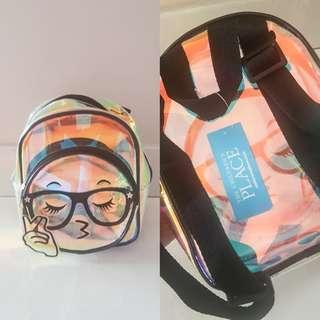 (NEW) The Children's Place Rainbow PVC Bag // Tas Anak Wanita