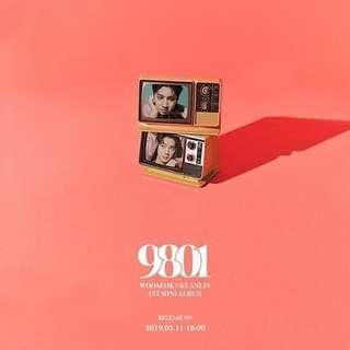 WOOSEOK X KUANLIN - 9801 (1st MINI ALBUM)