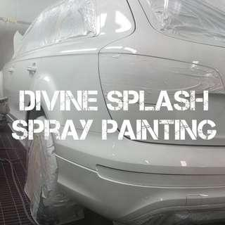 Automotive car spray painting singapore