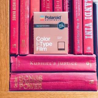 🚚 [Promo] Polaroid Originals I-type Rose Gold Colour Film Expiry 05/19