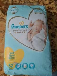 Pampers premium care NB 52 harga nett!!!