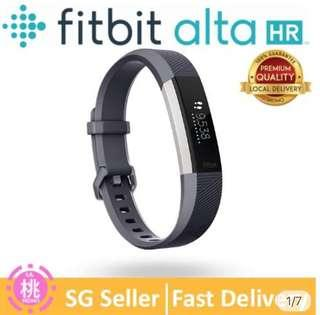 """🚚 Fitbit Alta HR Fitness Tracker + Heart Rate Monitor (Large 6.7"""" -8.1"""")"""