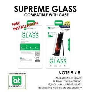 Amazingthing Supreme Glass For Note 9 / Note 8