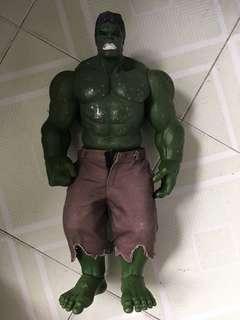 """變形俠醫Hulk 16""""膠公仔"""