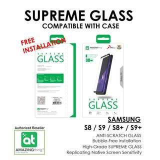 Amazingthing Supreme Glass For S9 / S9+ / S8 / S8+