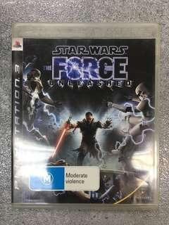 PS3 game Star Wars The Force Unleashed 星球大戰