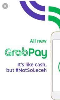 🚚 Grabpay credit 15% off