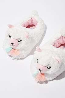 Typo bedroom slippers